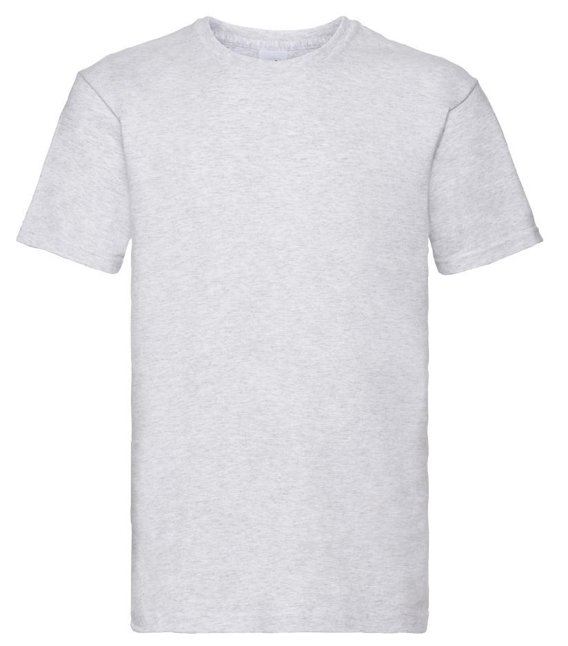 Pánské tričko Super Premium T. Barva: Ash