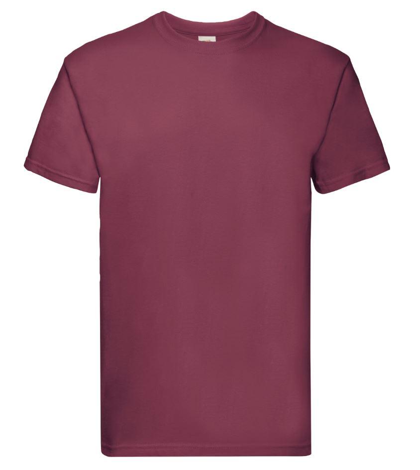 Pánské tričko Super Premium T. Barva: Burgundy