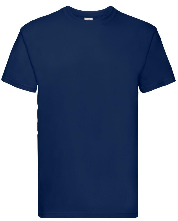 Pánské tričko Super Premium T. Barva: Navy