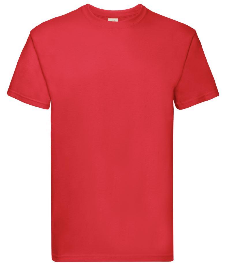 Pánské tričko Super Premium T. Barva: Red