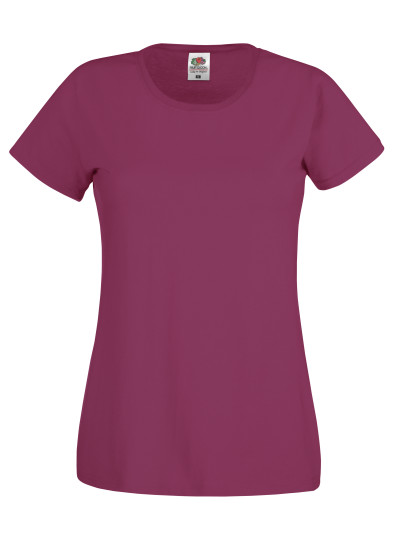 Dámské tričko Original T. Barva: Burgundy