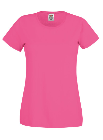 Dámské tričko Original T. Barva: Fuchsia