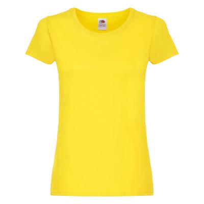 Dámské tričko Original T. Barva: Yellow