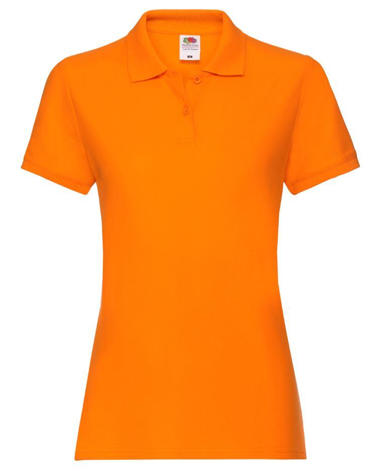 Dámská polokošile Lady-Fit Premium Polo. Barva: Orange