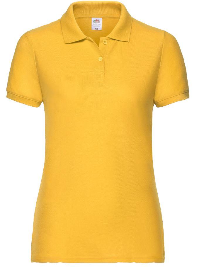 Dámská polokošile Lady-Fit 65/35 Polo. Barva: Sunflower