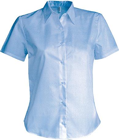 53ff1016ad2 Dámská košile s krátkým rukávem v nežehlivé úpravě - reklamni-textil ...