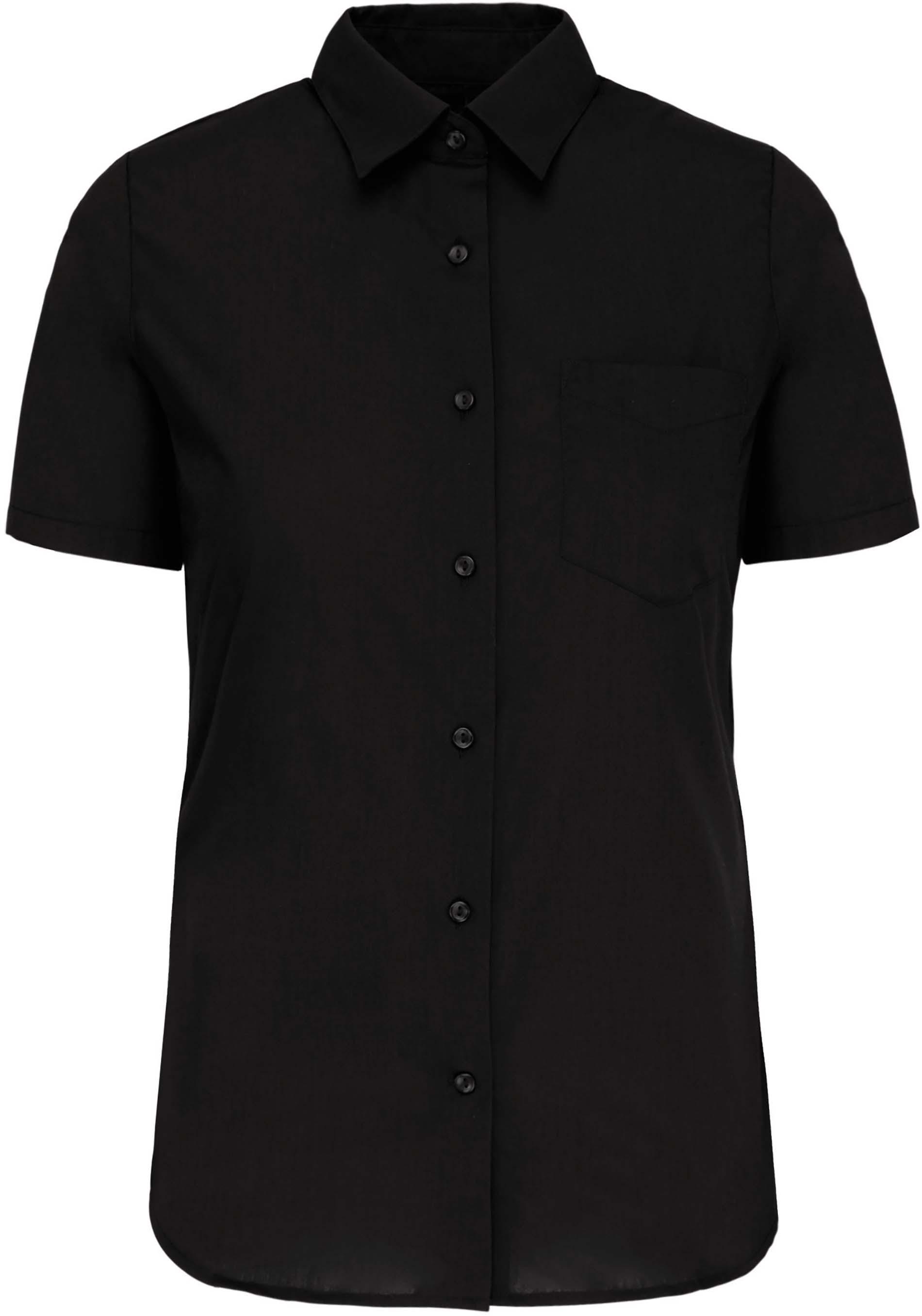 Dámská košile krátký rukáv JUDITH. Barva: Black