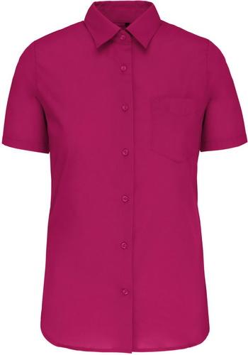 Dámská košile krátký rukáv JUDITH. Barva: Fuchsia