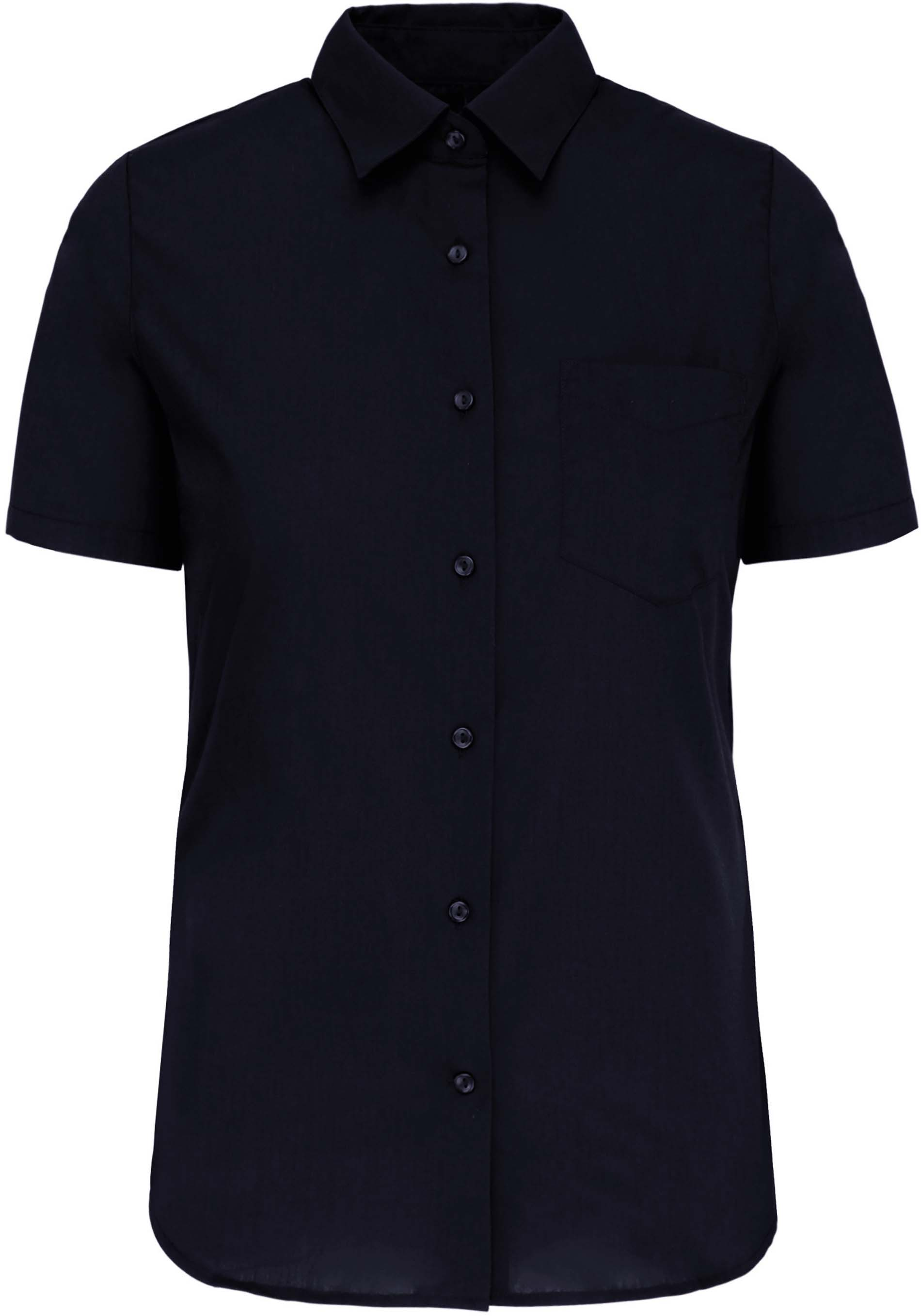 Dámská košile krátký rukáv JUDITH. Barva: Navy