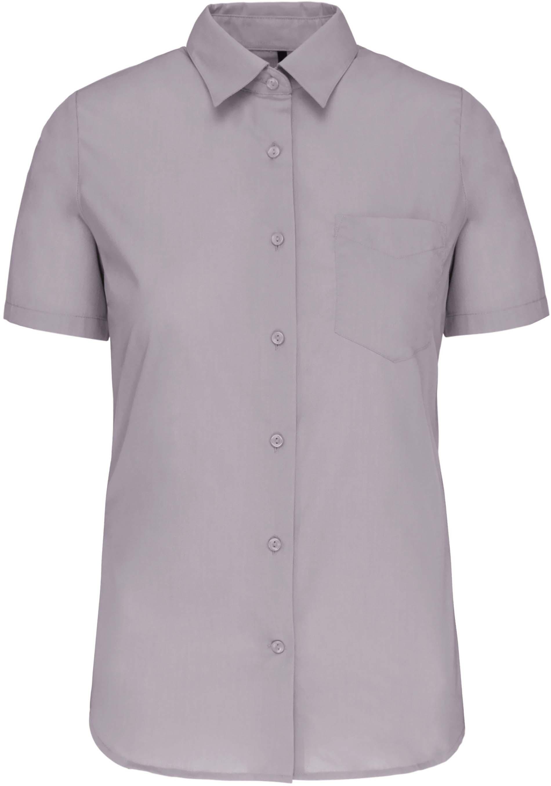 Dámská košile krátký rukáv JUDITH. Barva: Silver