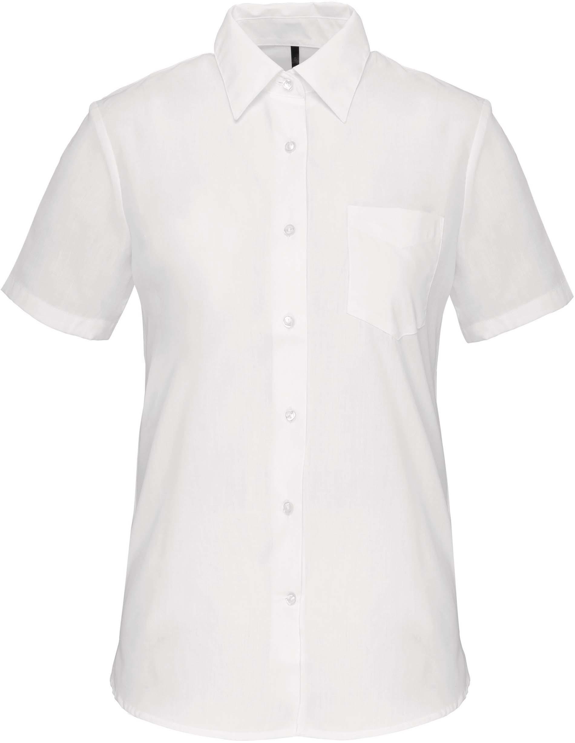 Dámská košile krátký rukáv JUDITH. Barva: White