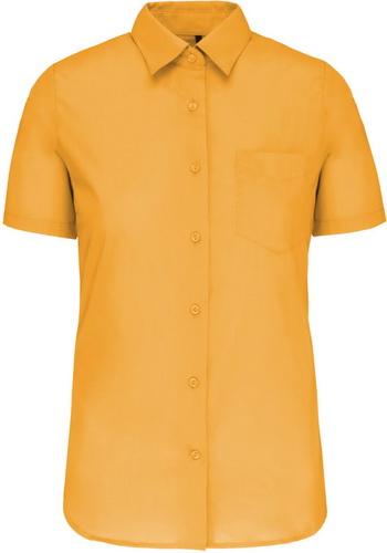 Dámská košile krátký rukáv JUDITH. Barva: Yellow