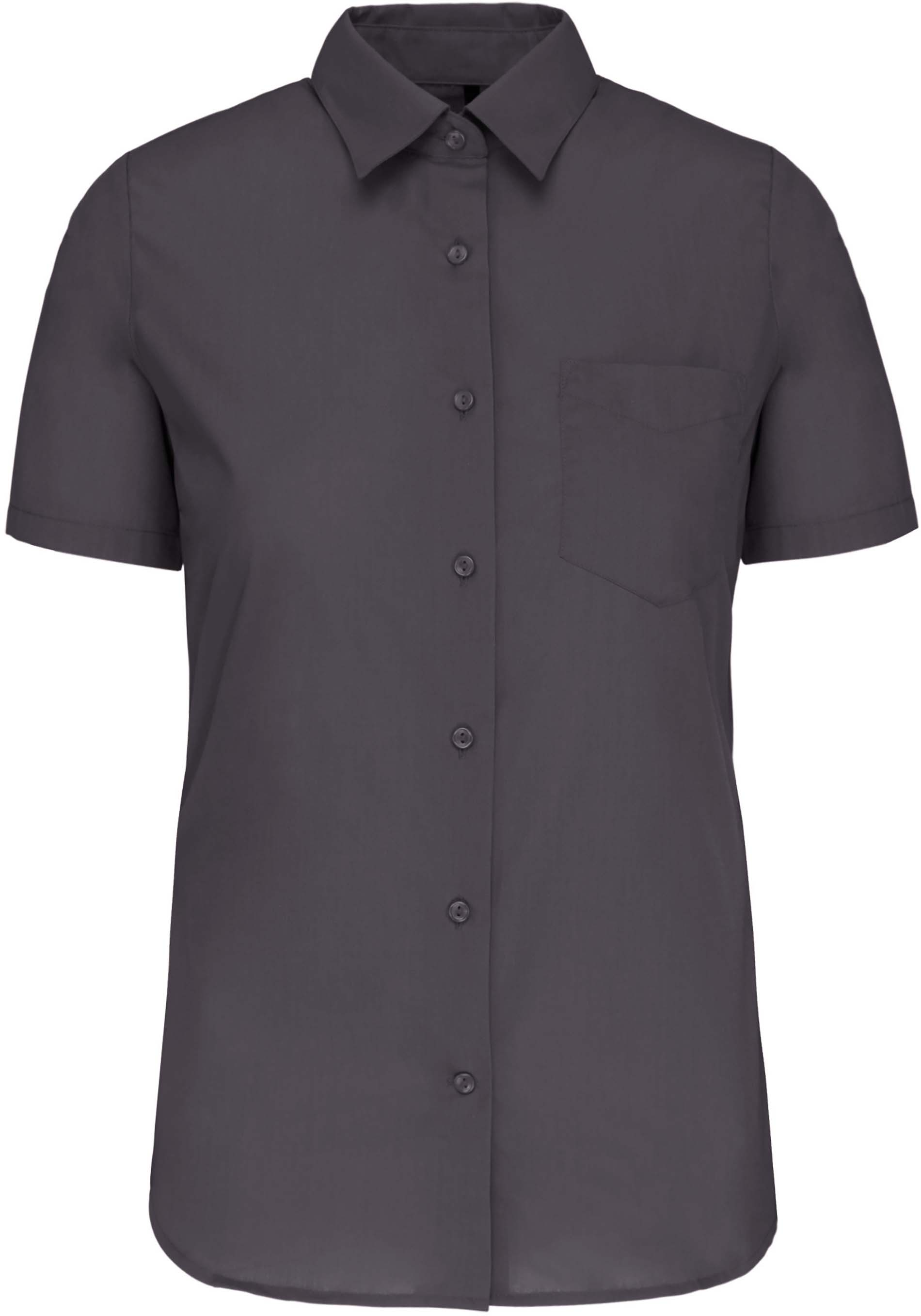 Dámská košile krátký rukáv JUDITH. Barva: Zinc