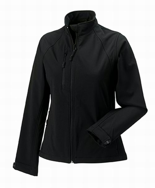 Dámská softshellová bunda. Barva: Black