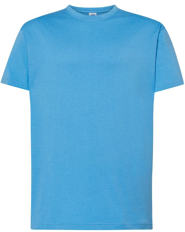 Pánské tričko Regular Premium. Barva: Azzure