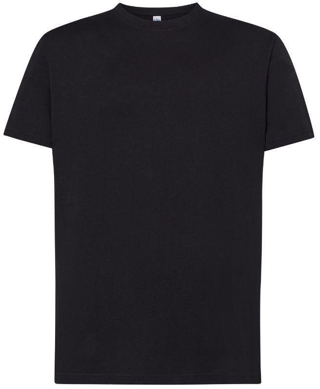Pánské tričko Regular Premium. Barva: Black