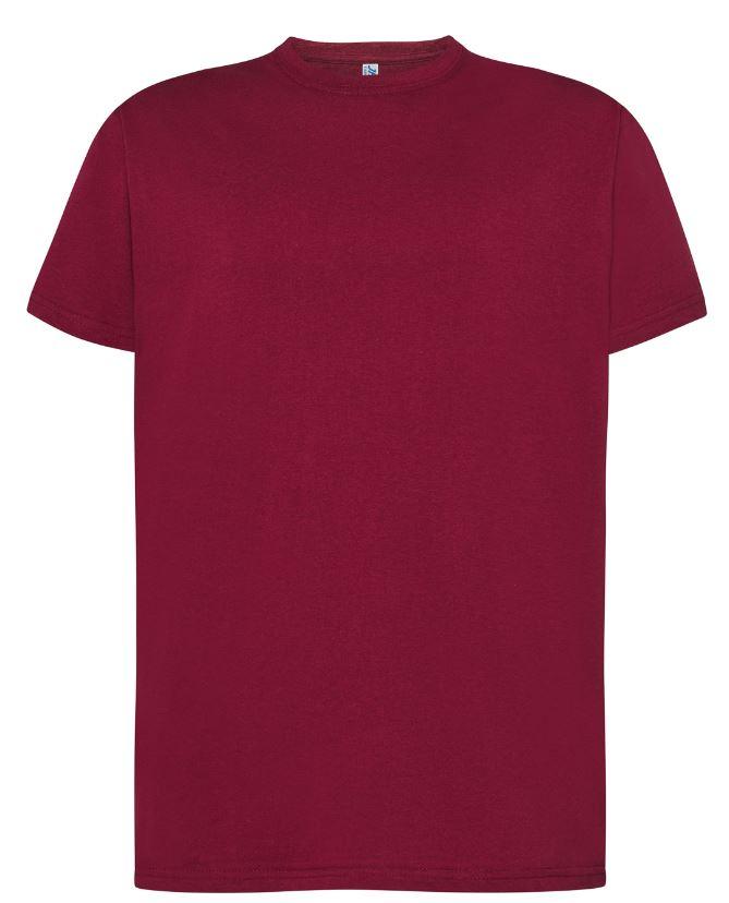Pánské tričko Regular Premium. Barva: Burgundy