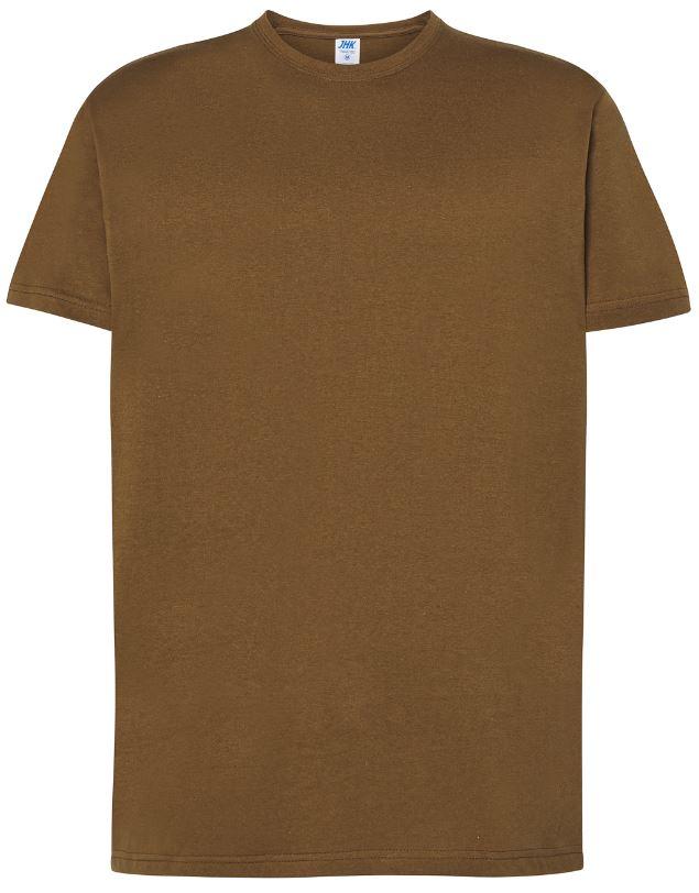 Pánské tričko Regular Premium. Barva: Khaki