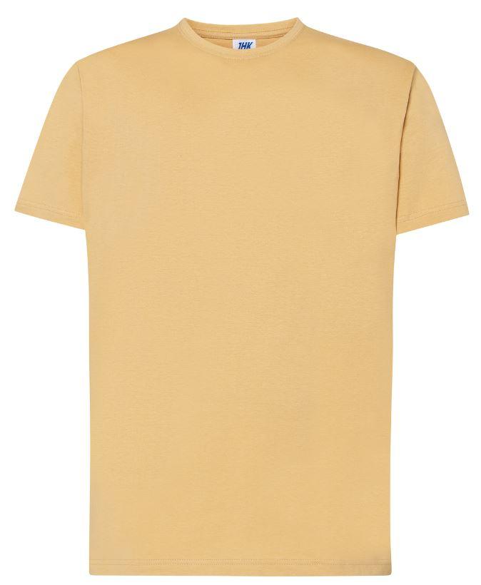Pánské tričko Regular Premium. Barva: Sand