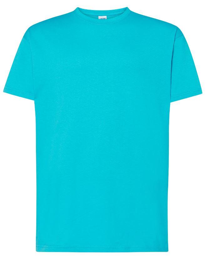 Pánské tričko Regular Premium. Barva: Turquoise