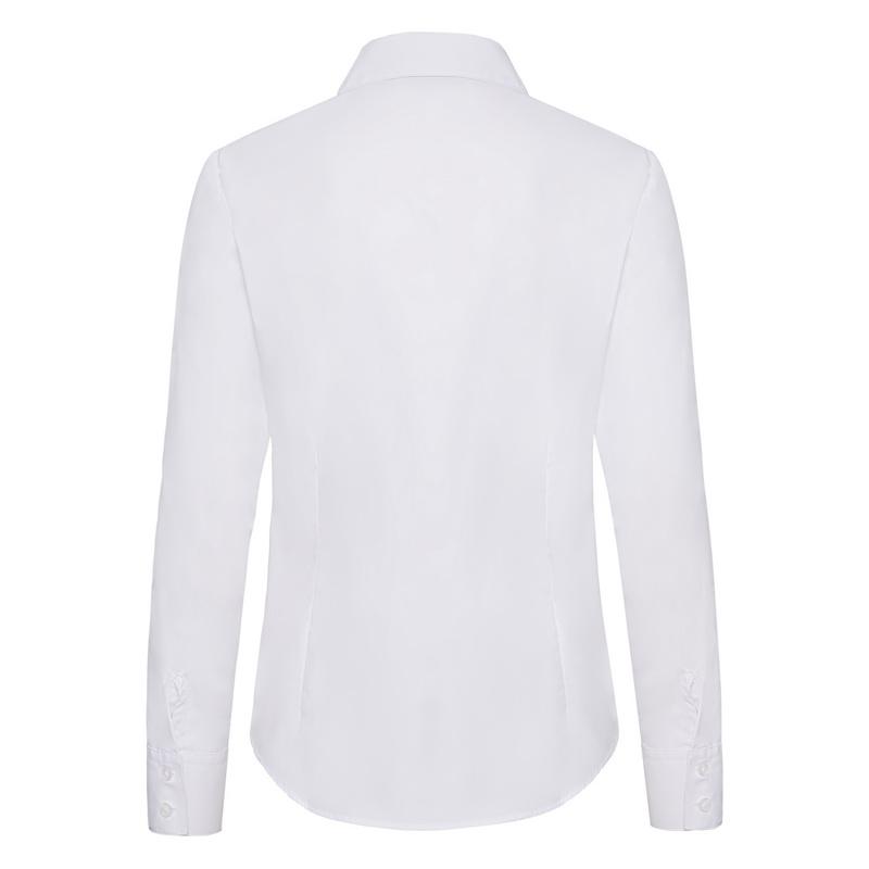 Dámská popelínová košile dlouhý rukáv