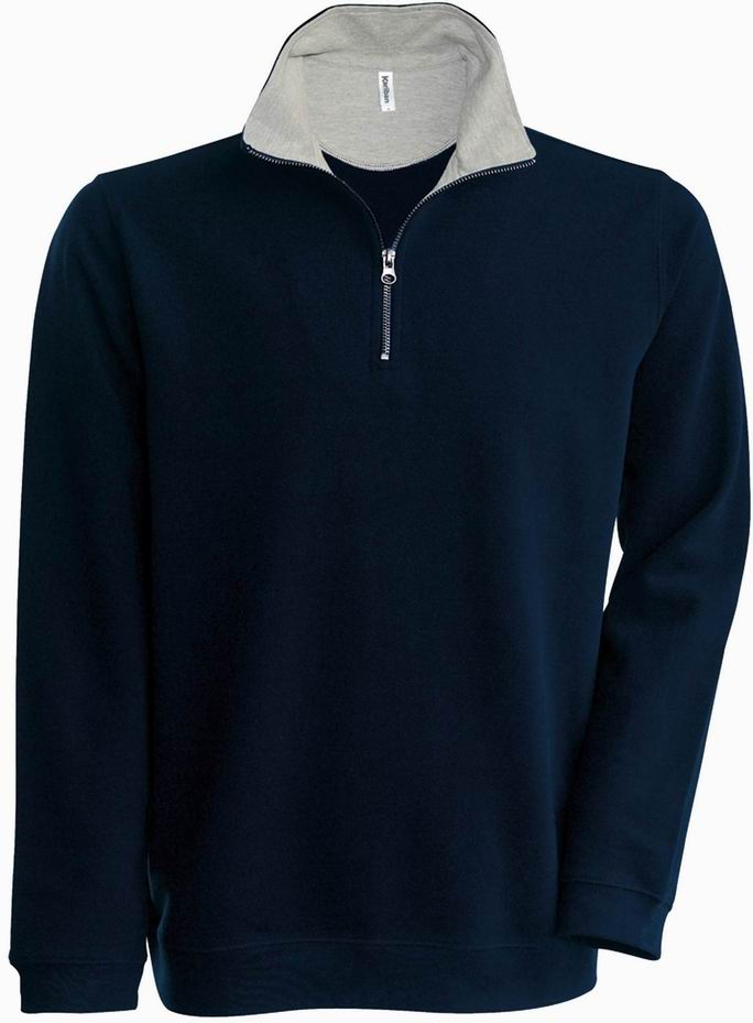Navy/Grey Heather