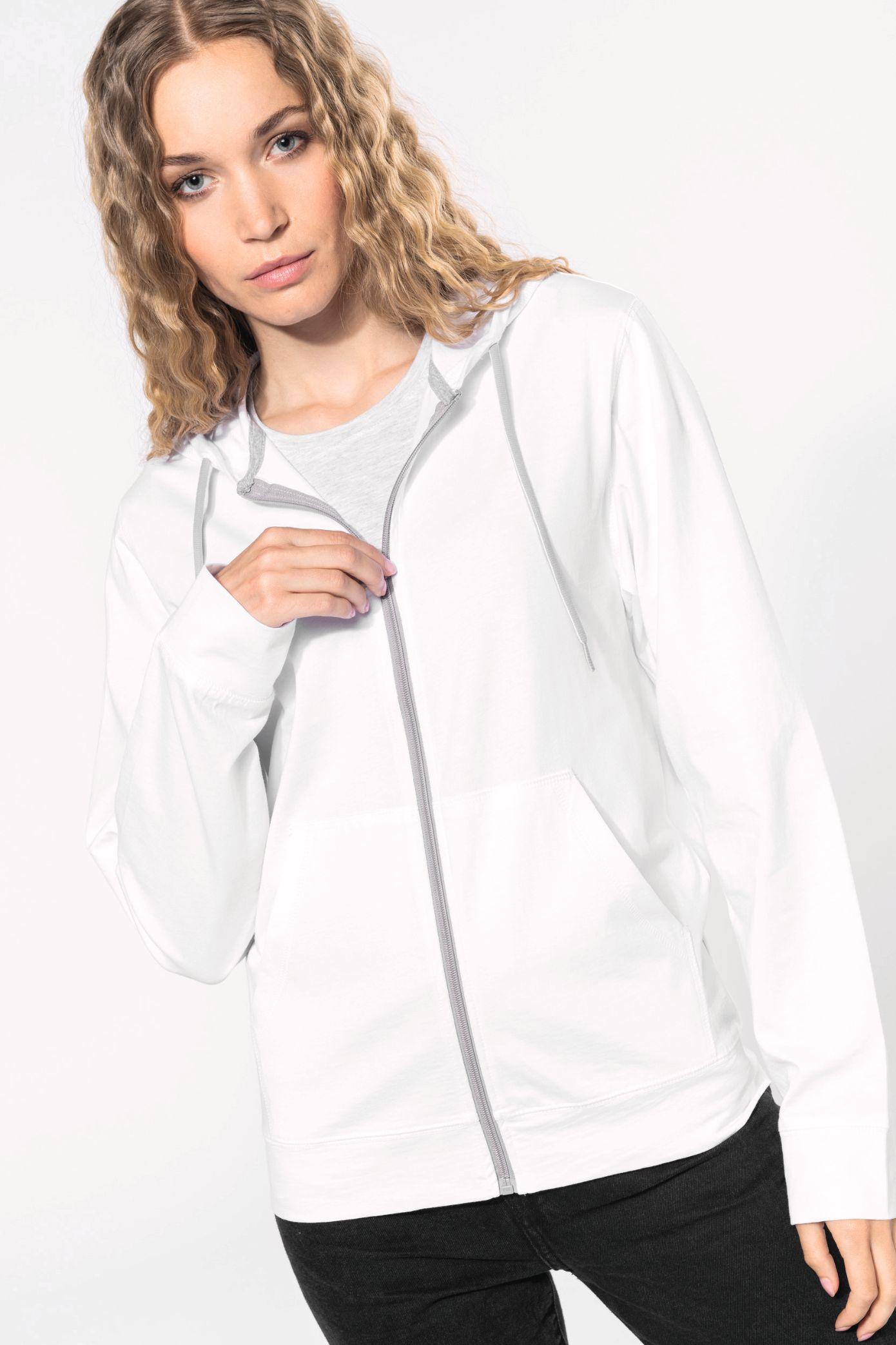 Mikina s kapucí unisex Lightweight Cotton Hoodie
