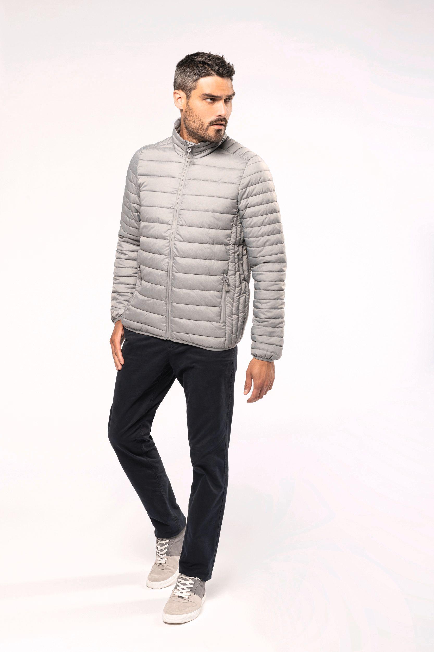 Pánská zimní bunda bez kapuce