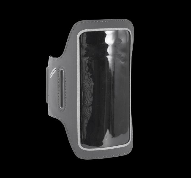 Držák mobilu na ruku s výstupem pro sluchátka