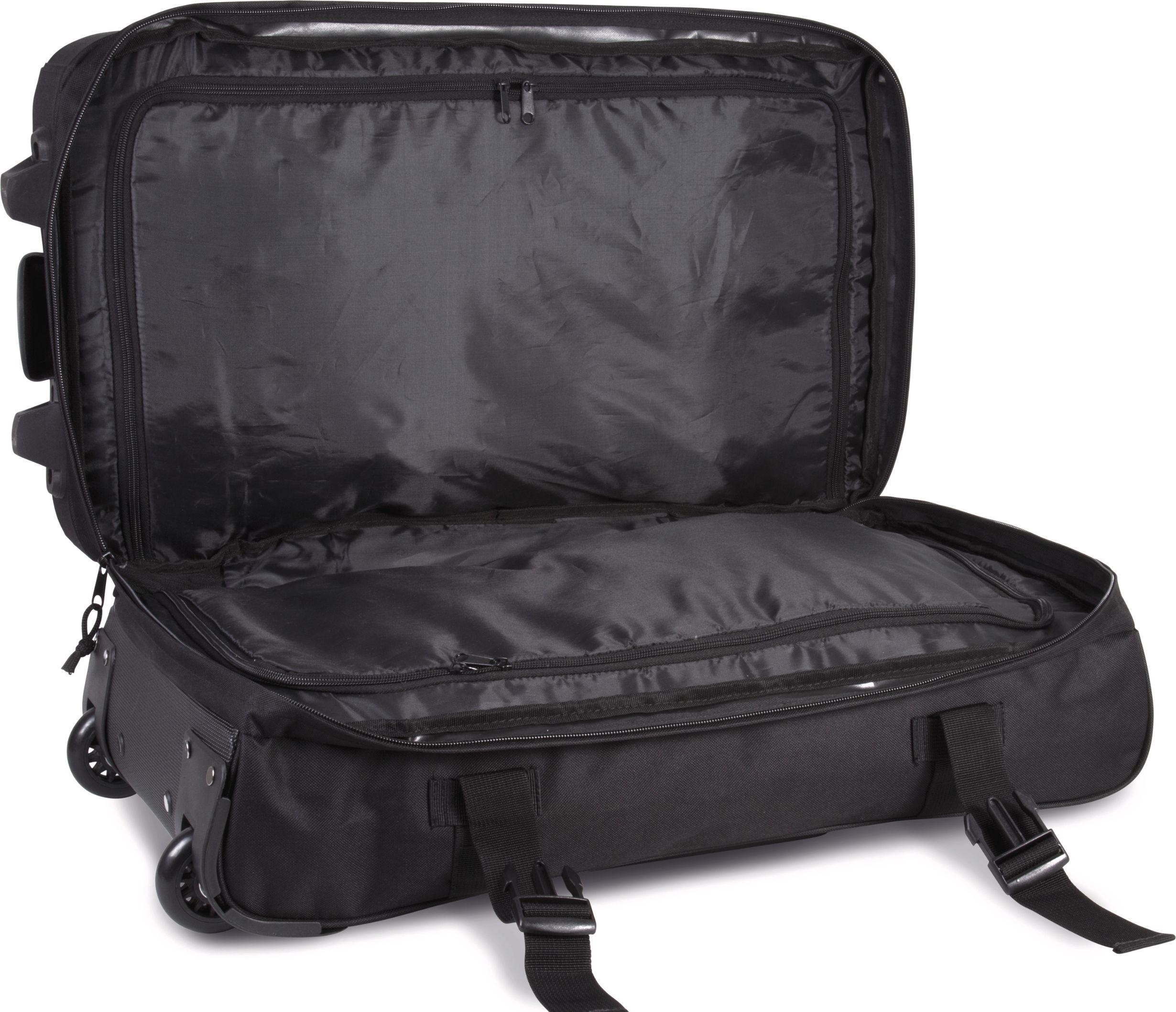 Kufr s výsuvnou rukojetí