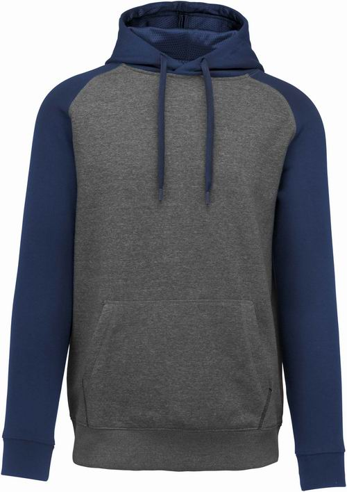 Grey Heather/Sporty Navy