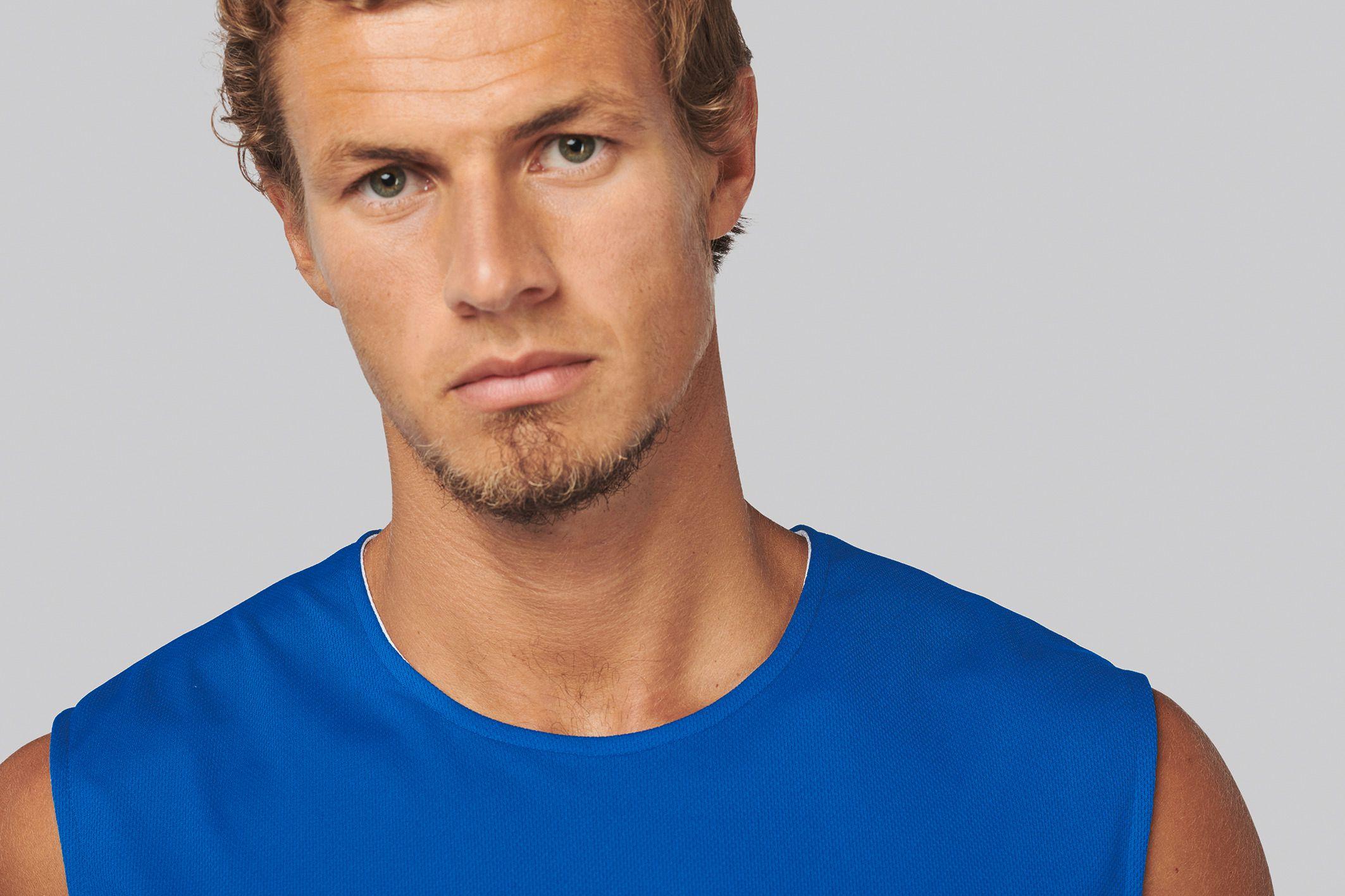 Sportovní dres - oboustranné trièko bez rukávù