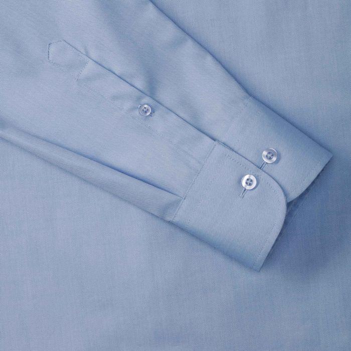 Pánská košile s dlouhými rukávy rybí kost