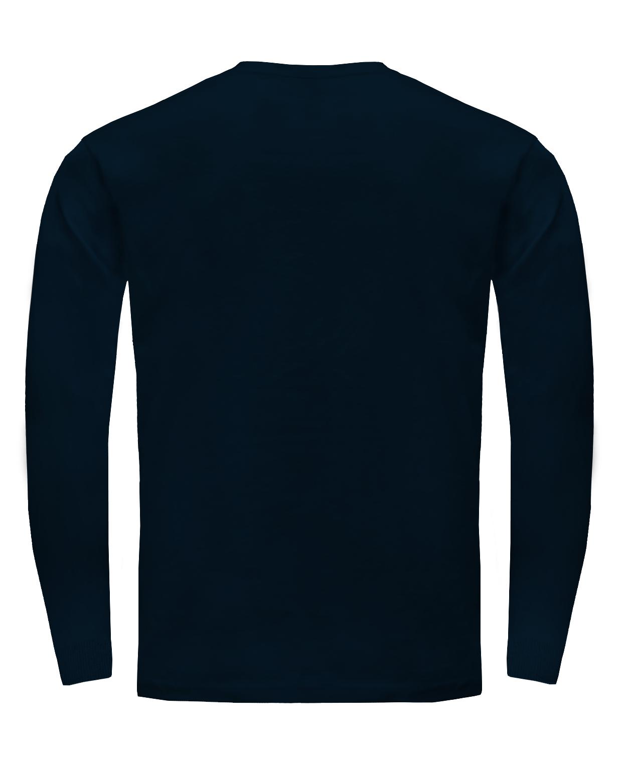 Pánské trièko dlouhý rukáv s náplety